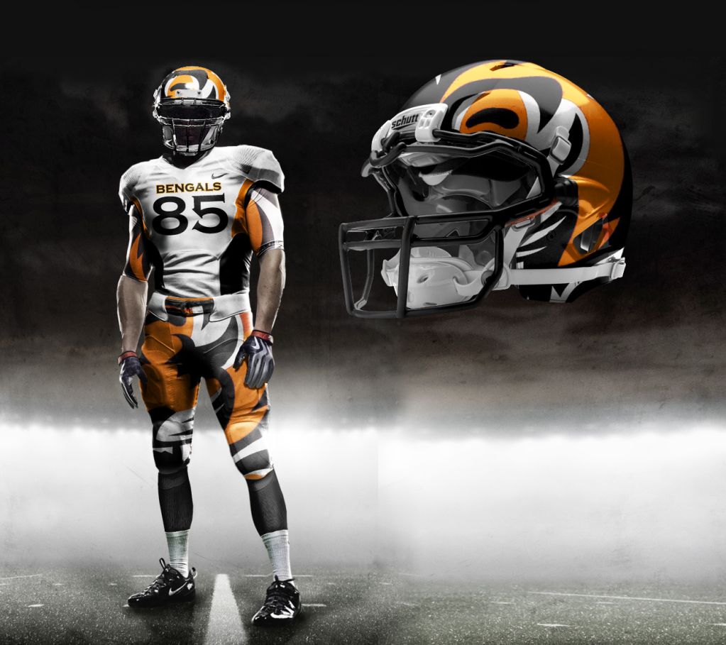 Are these the Bengals new jersey's? Lets pray to Paul Brown that they