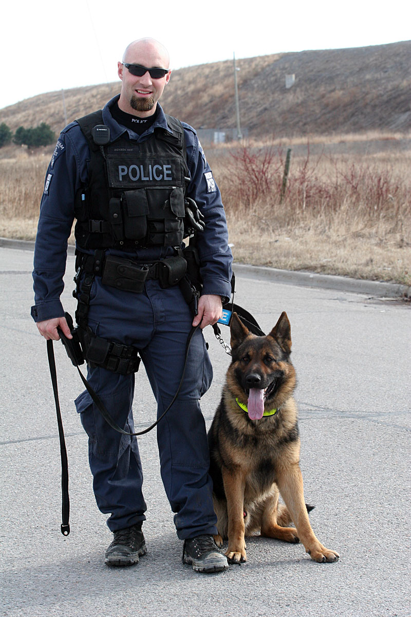 Ann Brokelman Photography: K9 Police Unit