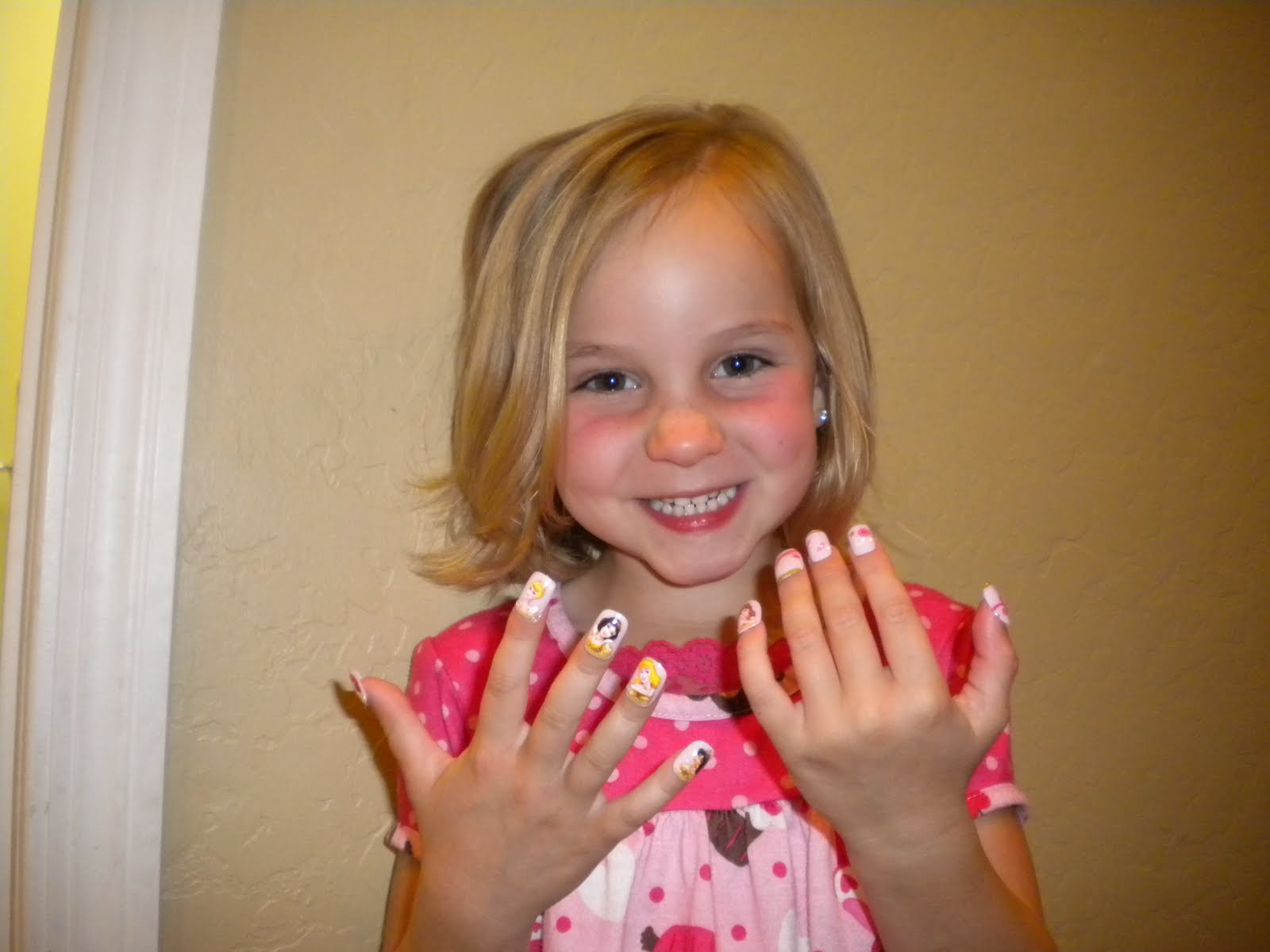 Cute Fake Nail Designs for Kids