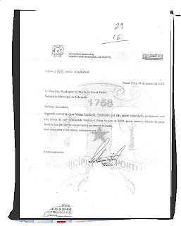 Pedro Barbosa, decreto contra professor doente, Rosangela Fialho, perseguição política