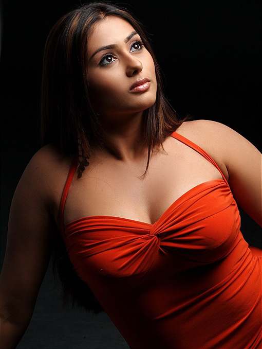 Hot Namitha in Black and