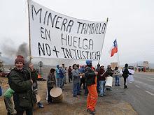 Huelga de Mineros Tambillo - Chile
