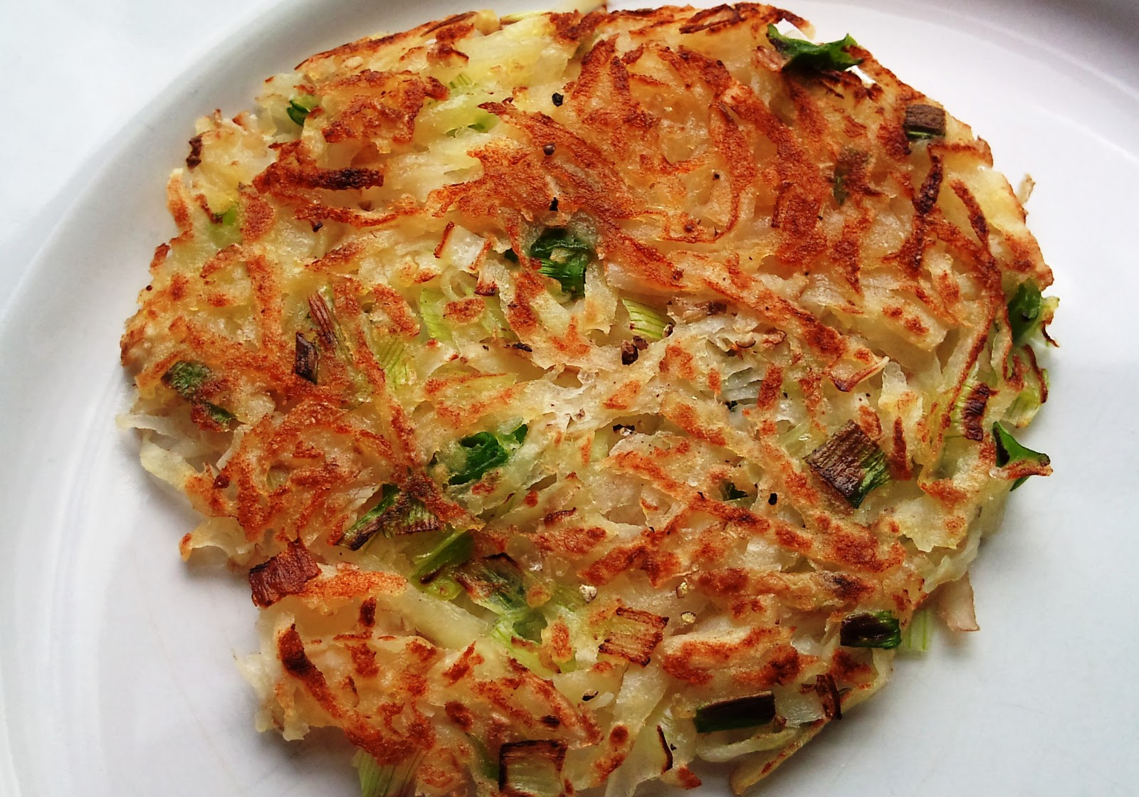 Supper Satisfaction: Potato Rosti
