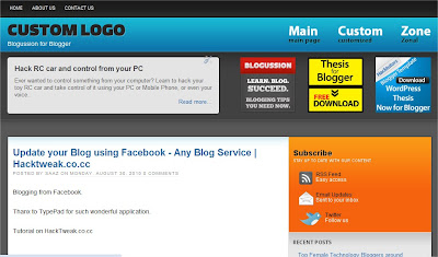 thumb Announcing Wordpress Thesis Blogussion for Blogger