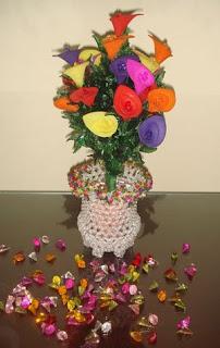 bunga tulip besar warna warni terdiri dari 2 kelopak bunga besar dan ...