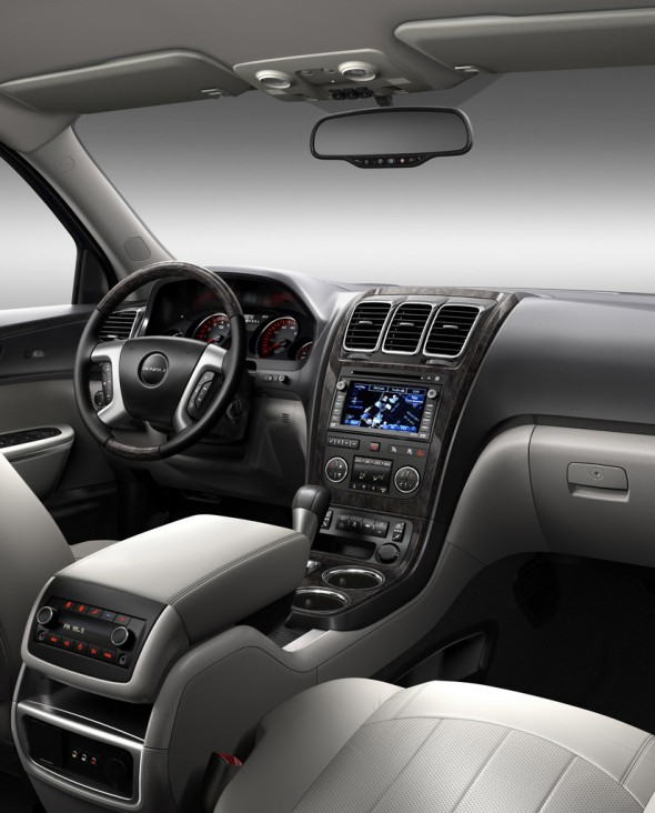 Gmc Acadia Denali Interior. The GMC Acadia Denali price