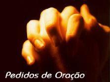 Você pede... Nós oramos!