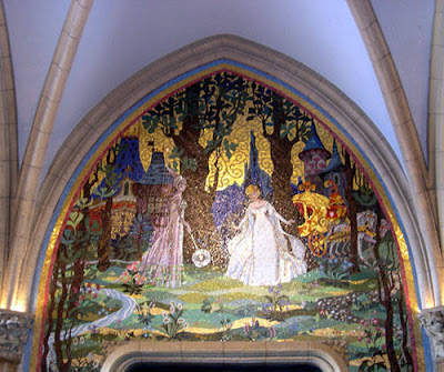cinderella mural A Dream Is A Wish Your Heart Makes....