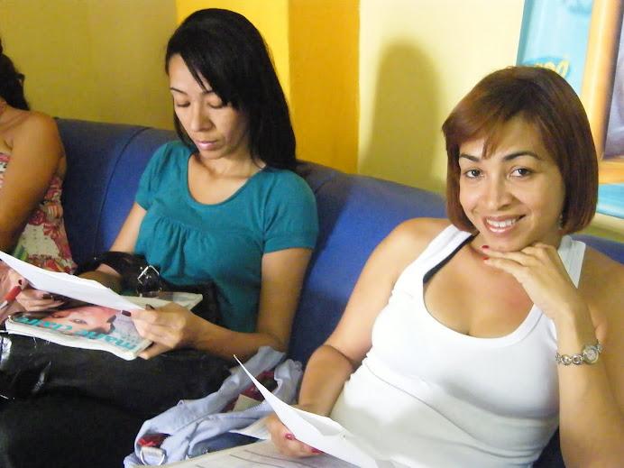 Angel e Cristiane Lacerda também fizeram teste pro filme Desamores.