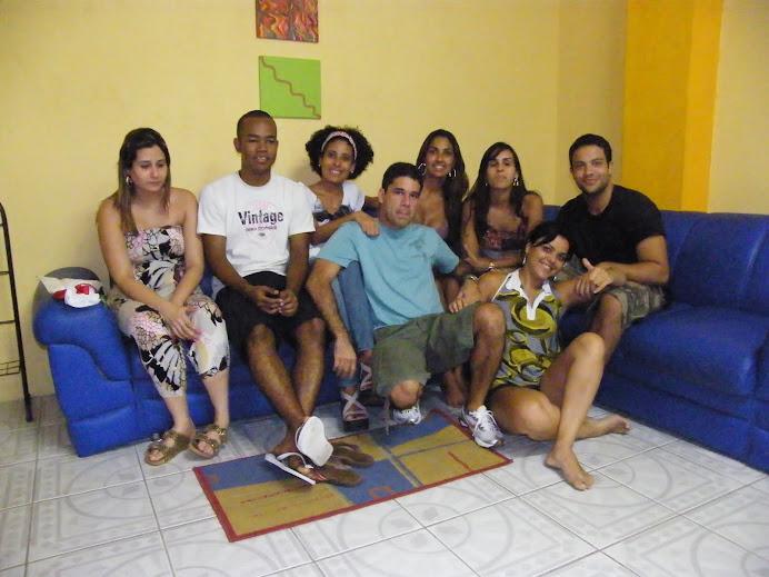 TURMA DA CAP ESCOLA DE TV CONFRATERNIZANDO