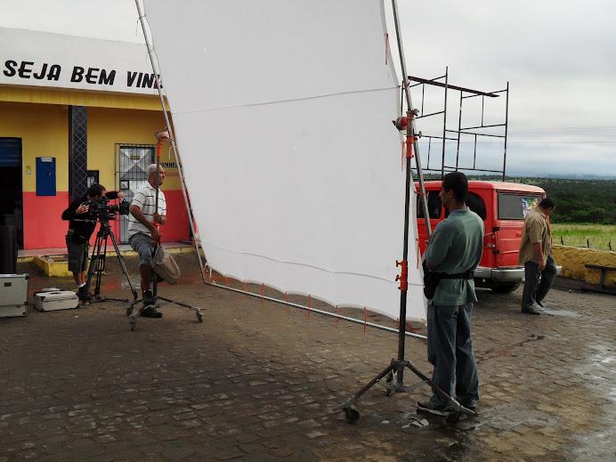 Foi um caminhão de equipamento utilizado para gravar um único comercial.