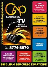 QUER SABER MAIS SOBRE OS CURSOS DA CAP ESCOLA DE TV e CINEMA DA BAHIA? ENVIE E-MAIL