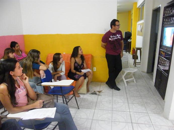 Aula com Valdiki Moura
