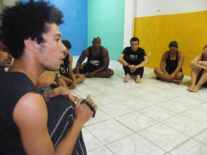 FABIO VIDAL ministrou uma aula sobre Teatro Fisico que foi Xou, hein!?