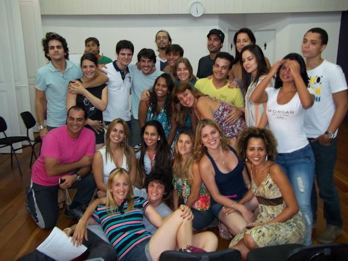TURMA DA CAP ESCOLA DE TV NO RIO DE JANEIRO