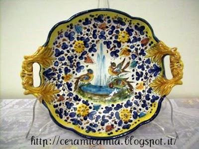 Ceramica che passione l 39 arabesco nell 39 arte della for Decorazione ceramica