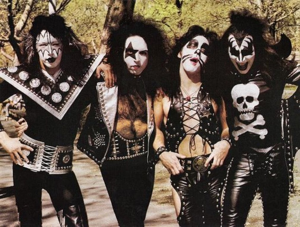 Ace frehley paul stanley peter criss e gene simmons
