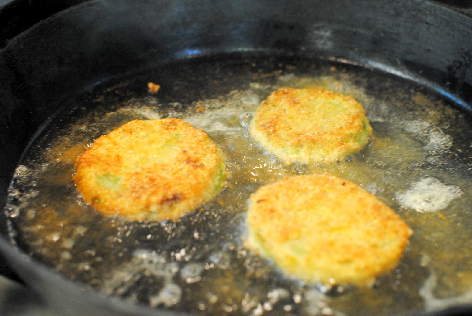 how to cook fried green tomatoes without cornmeal