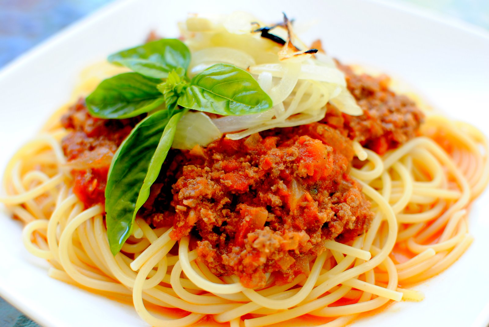 The Church Cook: Simple Bolognese Sauce and Hunter Cattle Co.