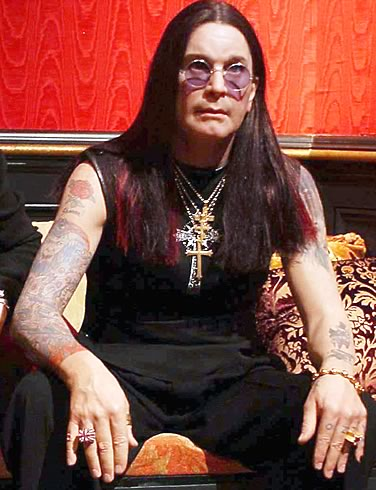 I hate the Ozzy that pimps himself and his dumb family for these recent