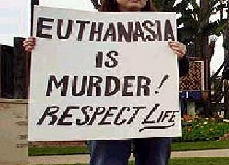 merciful killing If euthanasia seems to be the merciful response to end life,  rather than having the profession become a killing profession.
