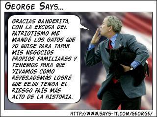 BIEN GEORGE LOGRASTE LO QUE NADIE EN EE.UU PUDO