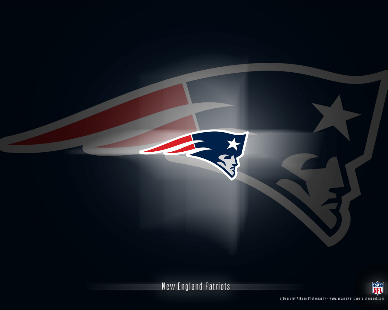 Arkane Nfl Wallpapers New England Patriots Vol 1