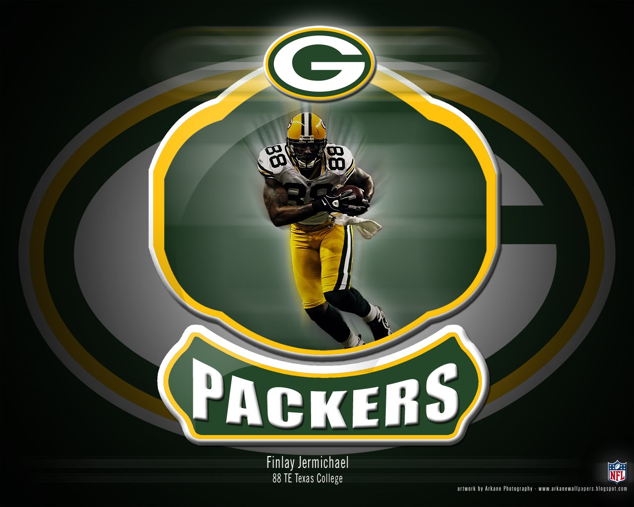 Arkane Nfl Wallpapers Finlay Jermichael Green Bay Packers