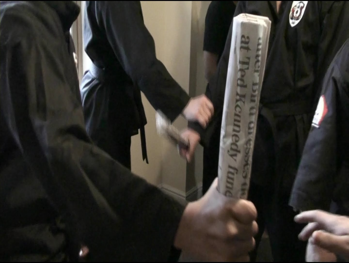How to Use a Newspaper as a Weapon | Self-Defense - YouTube