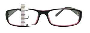 Eyeglass Frame B Measurement : Your Next Affordable Prescription Eyeglasses Online: How ...