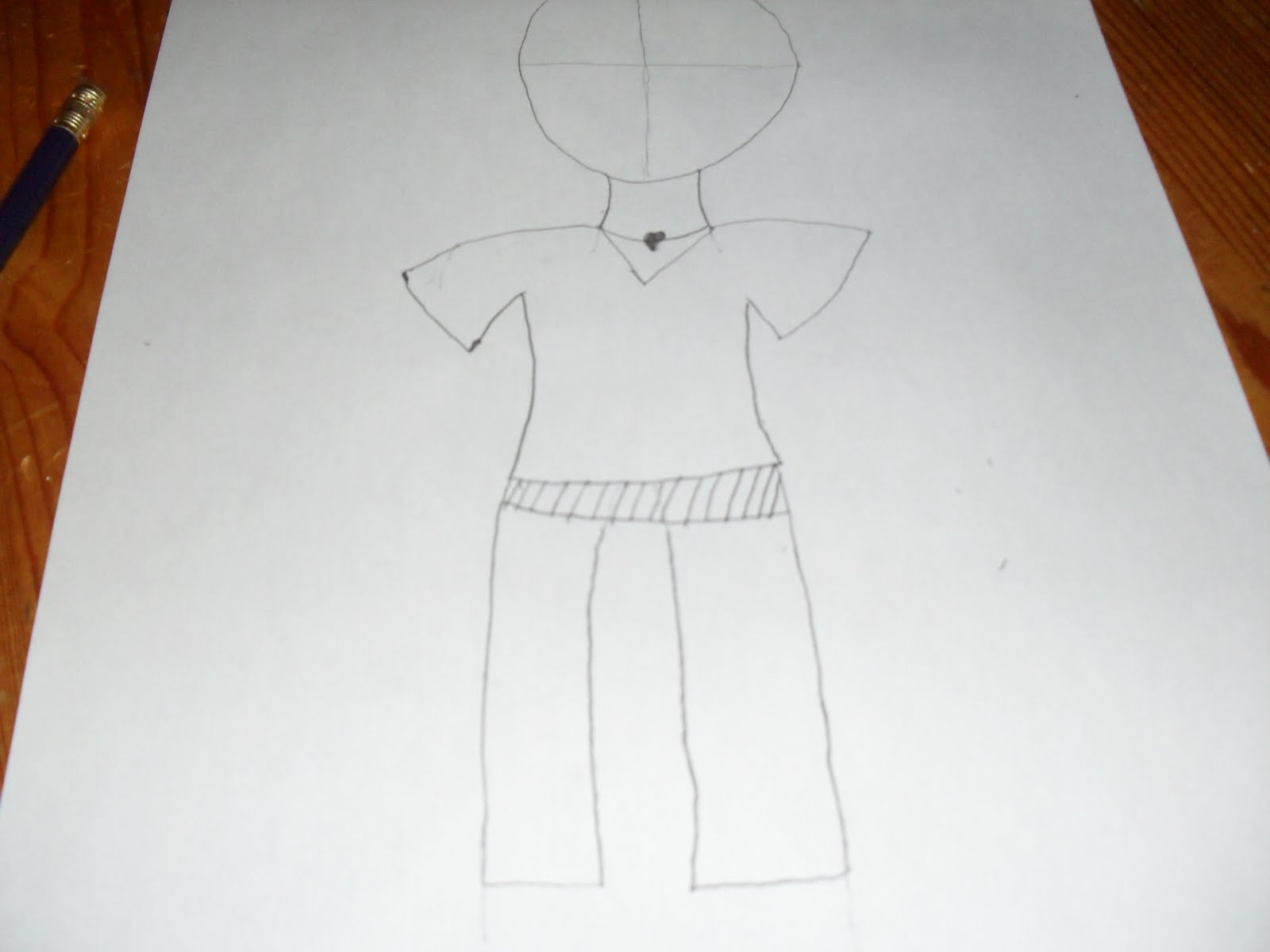 How To Make Straight Line Art : My passions for fashions art how to draw a girl