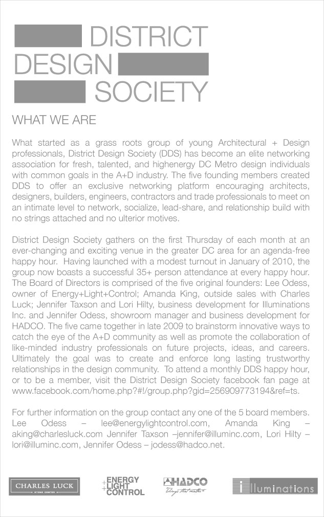 District Design Society - who we are