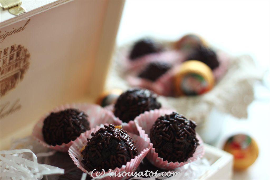 Bisous À Toi: Chocolate Rum Balls