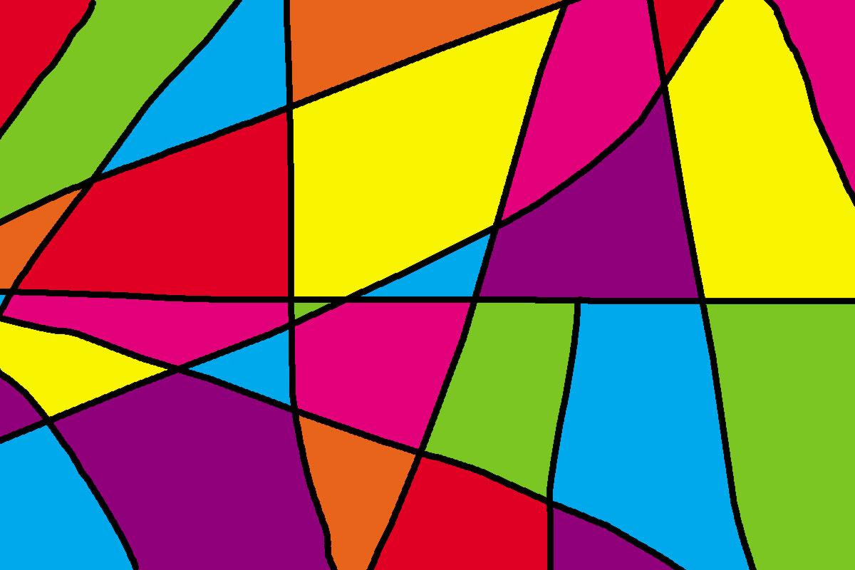 dibujos abstractos coloridos imagui