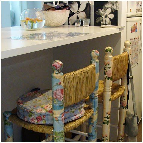 Sillas recuperadas decorar tu casa es - Sillas para casa ...
