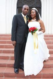 Mdau Enock Bwigane & wife  Miriam