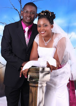 HAPPILY MARRIED-AGNESS WITH HER LOVELY HUSBAND