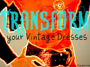 Tips Tukar gaya Dress vintage anda