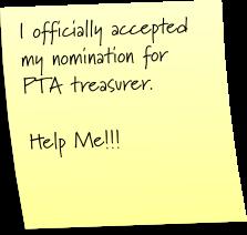 PTA treasurer