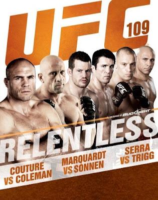 UFC 109 Live Stream | Couture Vs Coleman