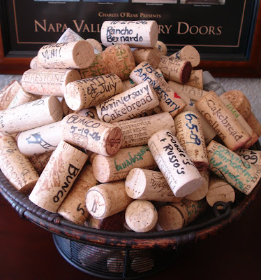 wine cork wedding ideas