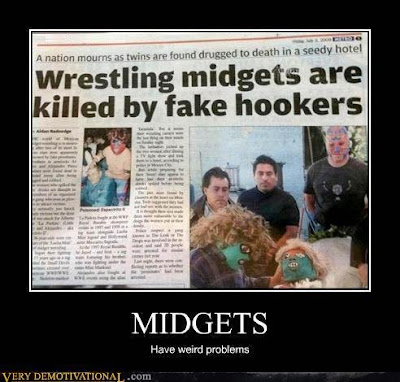 Weird Midgets in the News - Hooker Trauma?