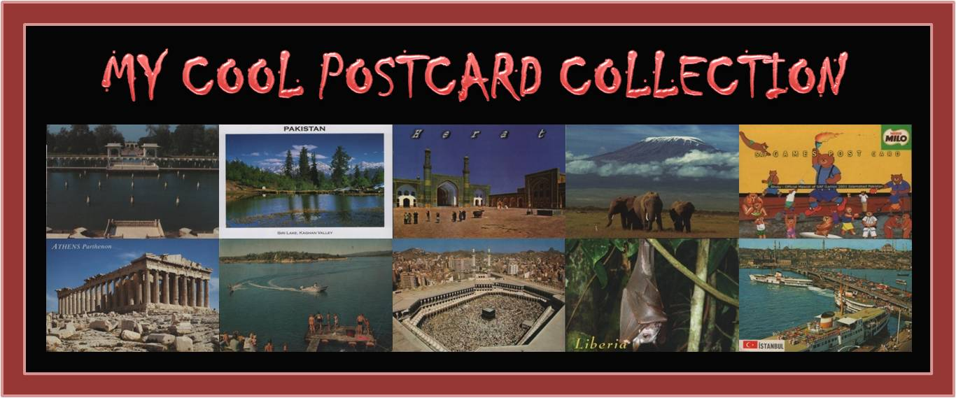 My Cool Postcard Collection