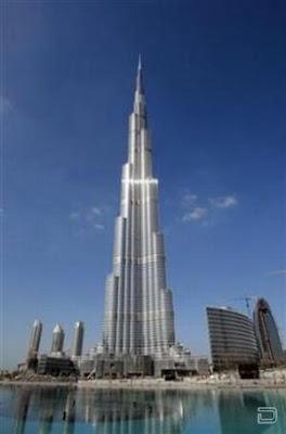 Самый большой в мире небоскреб Бурдж Дубай