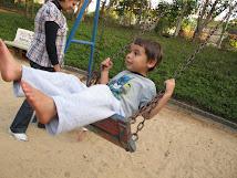 Brincando no Parque