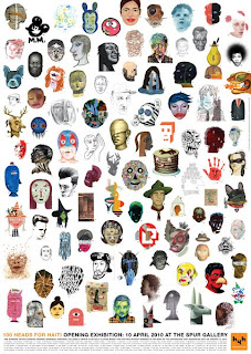 Joyce Hesselberth, David Plunkert, 100 Heads for Haiti