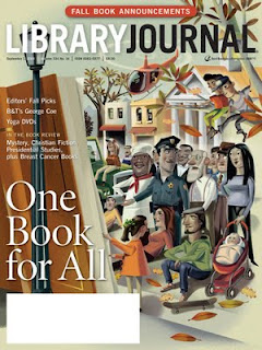 Nigel Buchanan, Library Journal, Magazine Covers