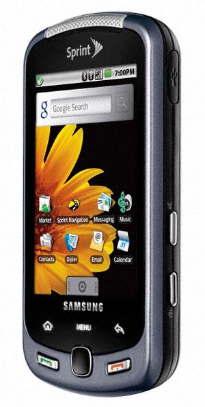 ramakrishna goverdhanam  samsung moment m900 android phone