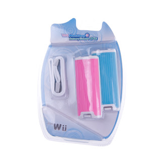 Handle Padlock Strap and Battery Cover Kit for Wii