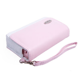 Pink Leather Case for NDSL